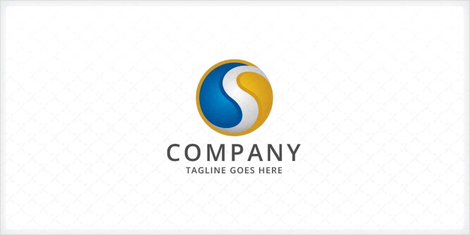 Sphere Letter S Logo