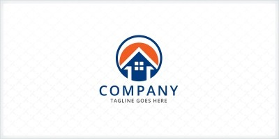 Circle Home - Real Estate Logo