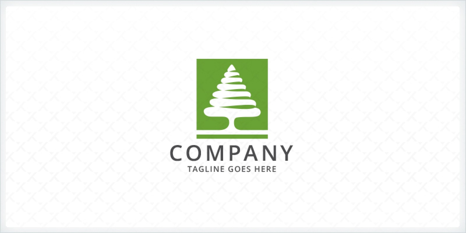 Green Pine Tree Logo