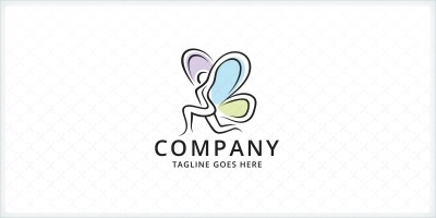 Butterfly Yoga Studio Logo