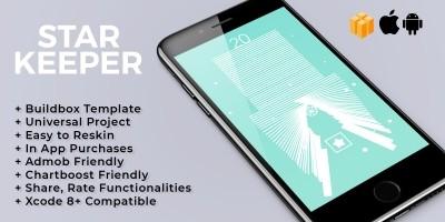 Star Keeper - Buildbox Template
