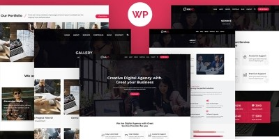 Maxz - Corporate WordPress Theme