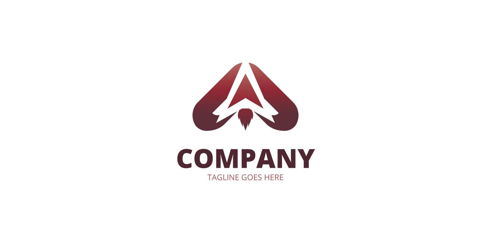 Rocket Letter A Logo