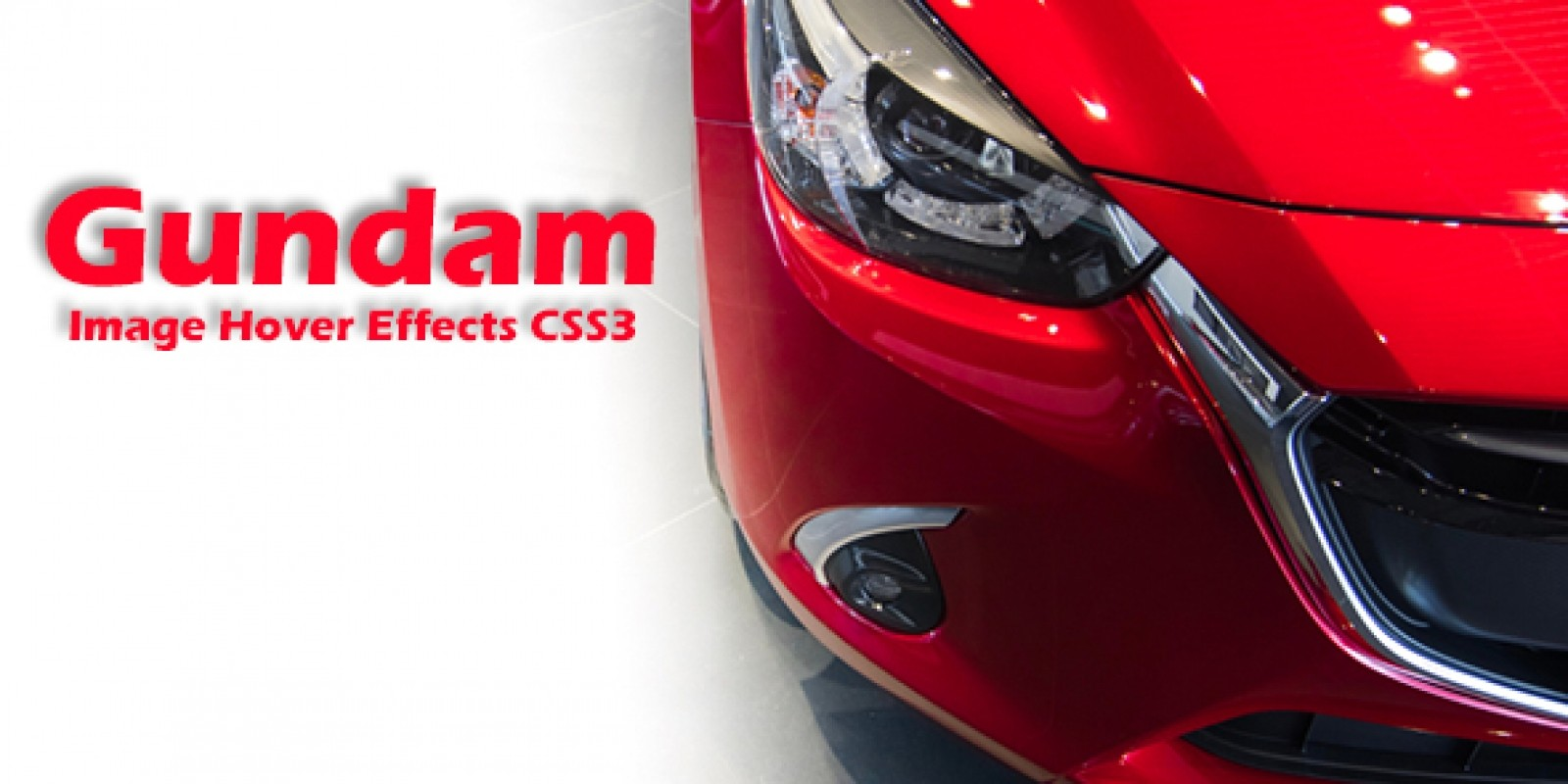 Gundam- CSS3 Image Hover Effects