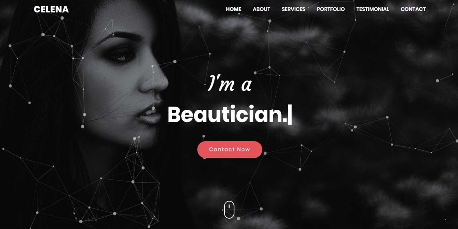 Celena - Personal Portfolio html Template