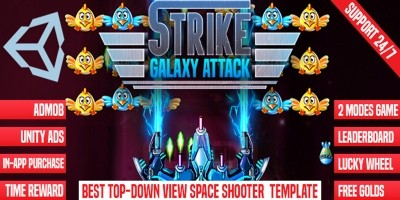 Strike Galaxy Attack Unity Template