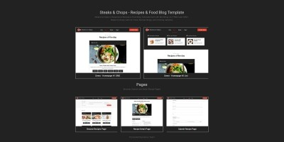 Steaks & Chops - Recipes Template