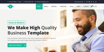 Trendbiz - Multipurpose Business HTML5 Template