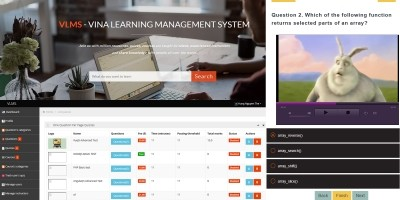 Vina Elearning Management System