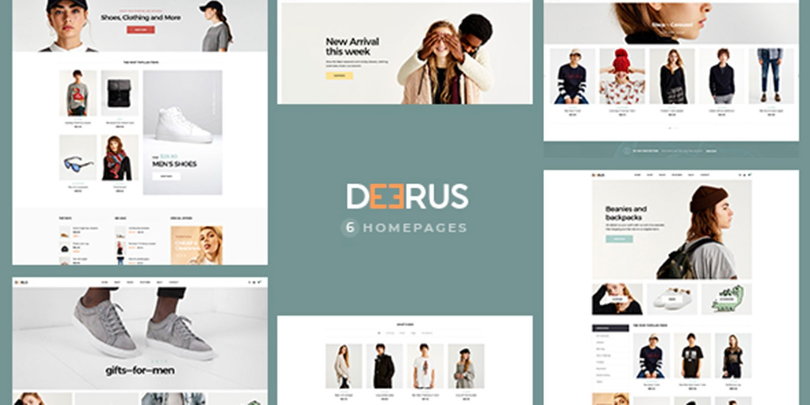 Deerus - Multipurpose WooCommerce Theme