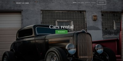 Car Rent HTML Template