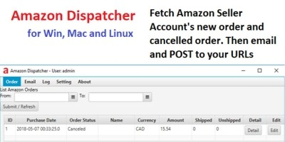 Amazon Dispatcher