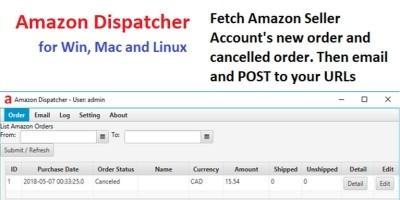 Amazon Dispatcher