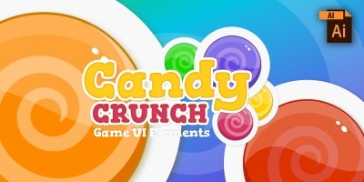 Candy Crunch UI