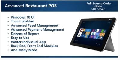 Advanced Restaurant POS .NET