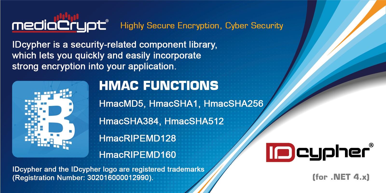 IDcypher HMAC Functions .NET