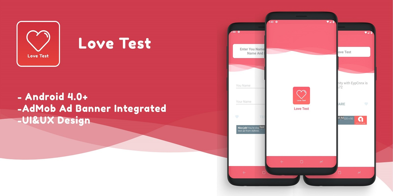 Love Test - Android Source Code