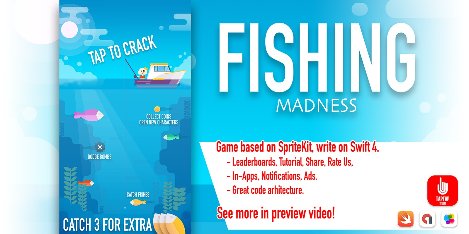 Fishing Madness iOS Source Code