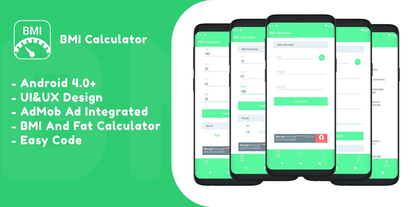 BMI Calculator - Android Source Code