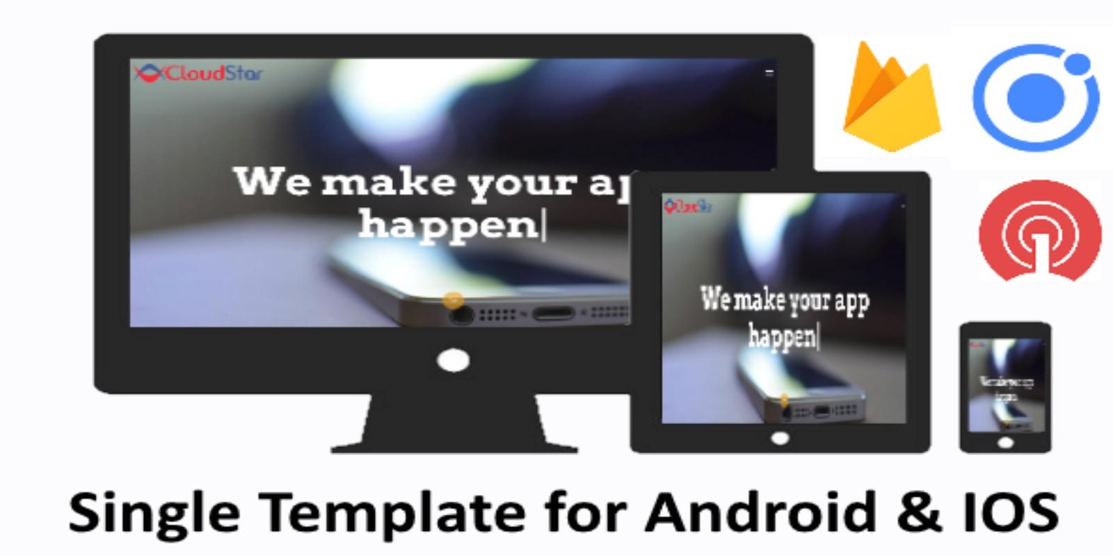 Ionic 3 WebApp Ultimate