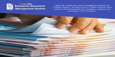 CronoDoc Electronic Document Management System PHP