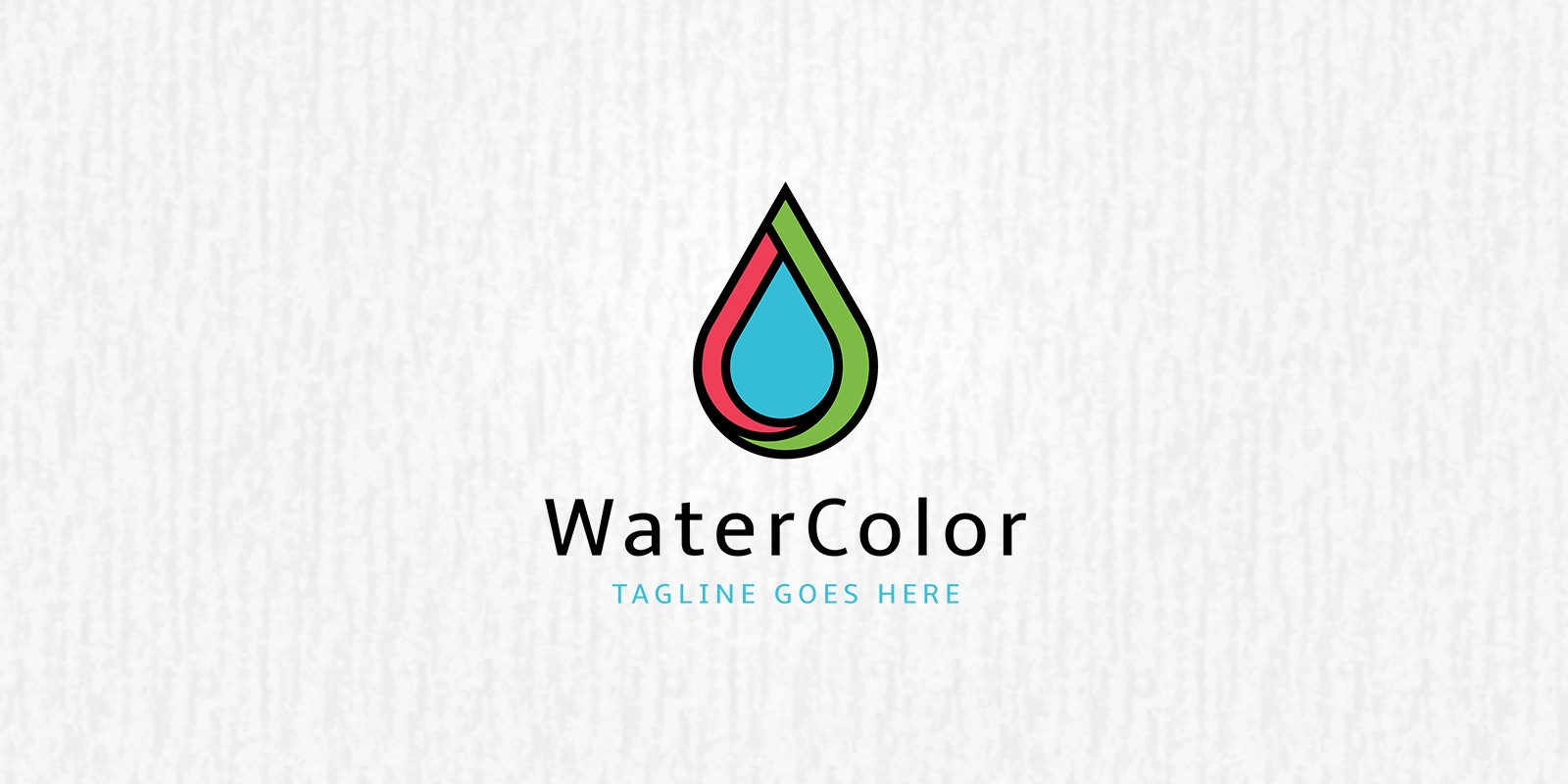Water Color Logo