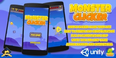 Monster Clicker - Unity Game Source Code