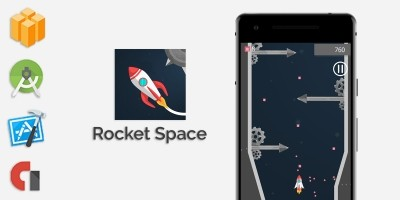 Rocket Space - Buildbox Template