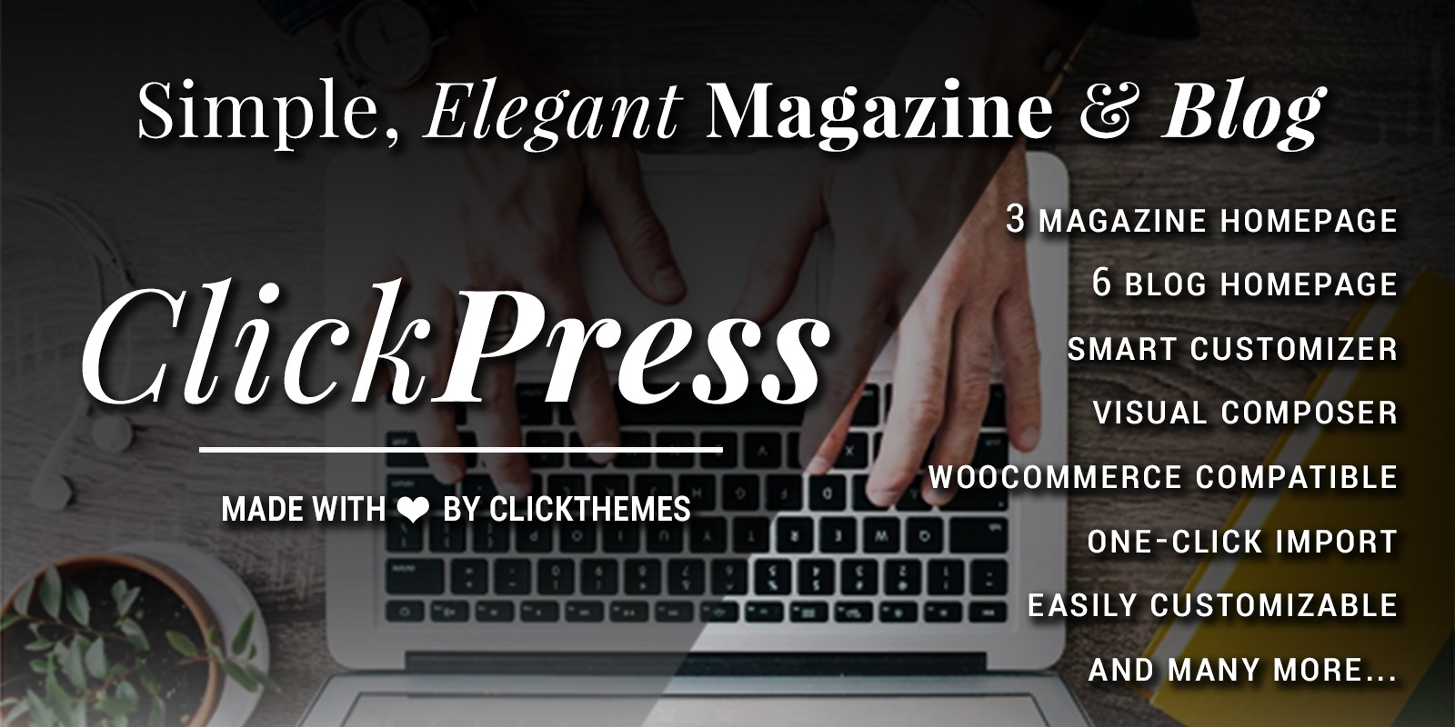 Click Press - Magazine WordPress Theme