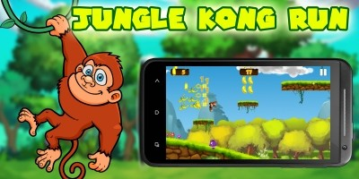 Jungle Kong Run - Buildbox Template