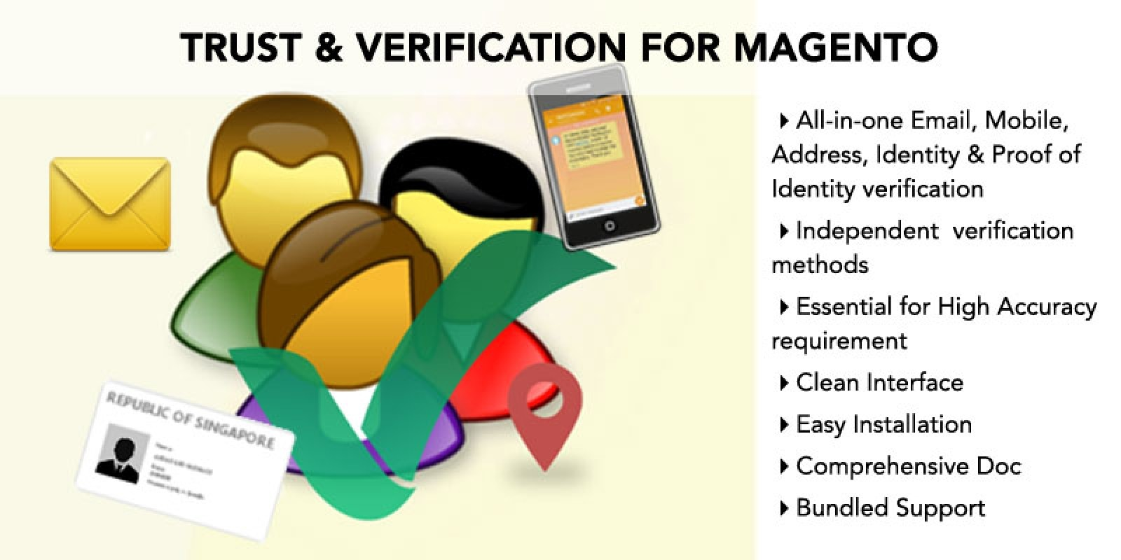 Trust And Verification Extension for Magento