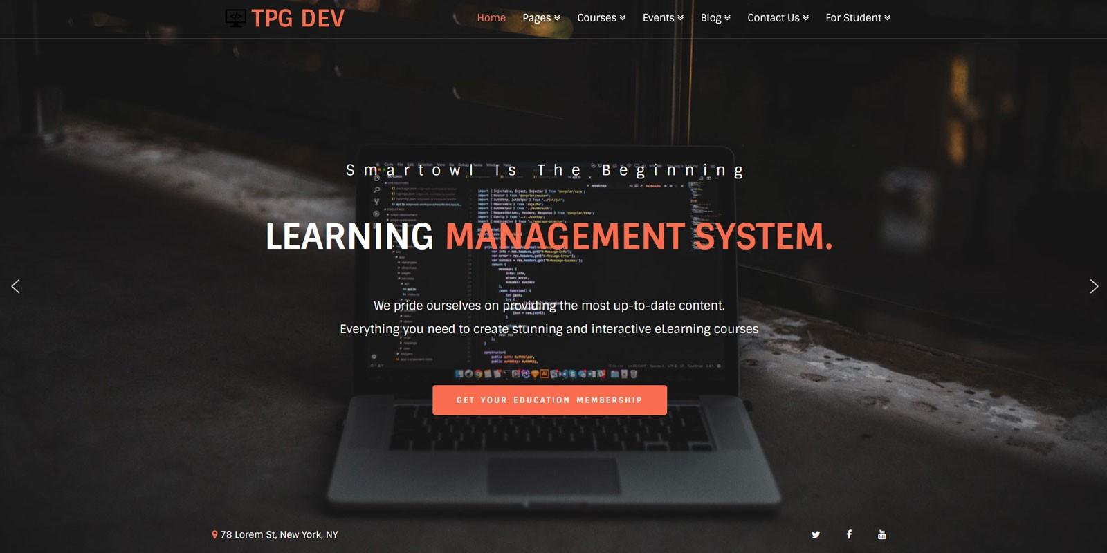 TPG Dev - WordPress Developer Theme