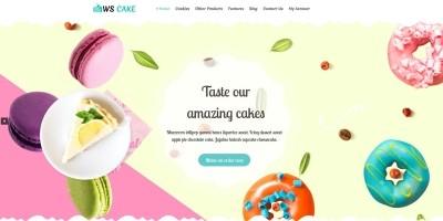 WS Cake - Wordpress theme