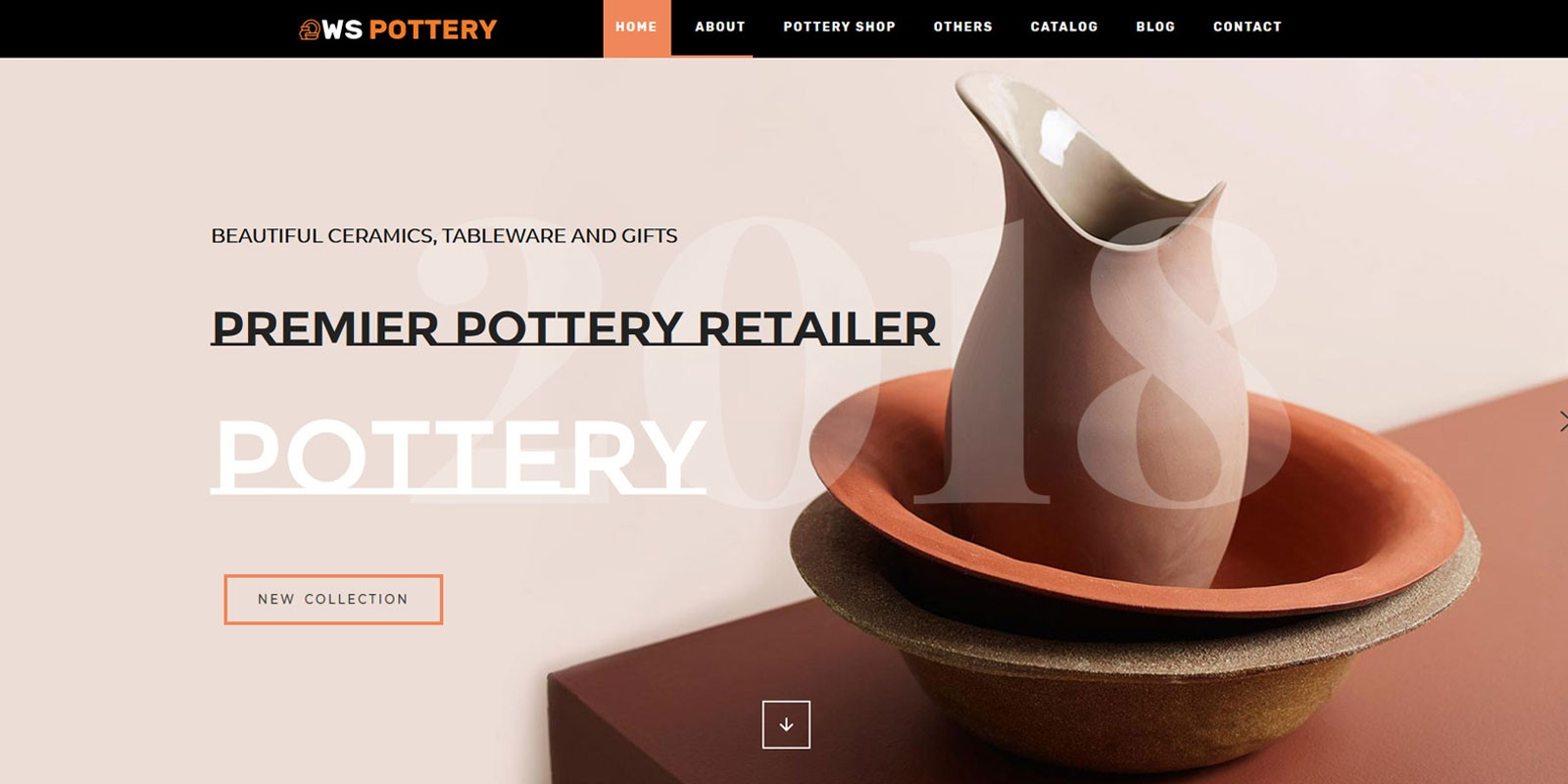 WS Pottery - WordPress Theme
