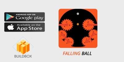 Falling  Ball Buildbox Template