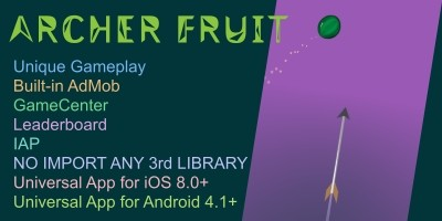 Archer Fruit - Unity Source Code