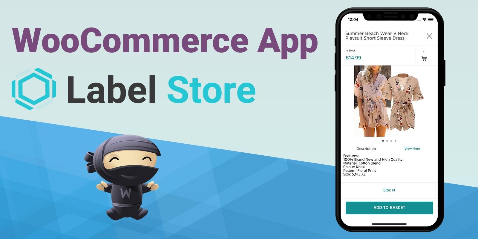 LabelStore - WooCommerce iOS App