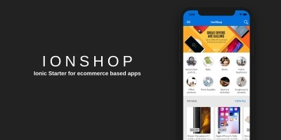IonShop - Complete Ionic eCommerce Solution
