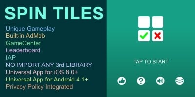Spin Tiles - Unity Project