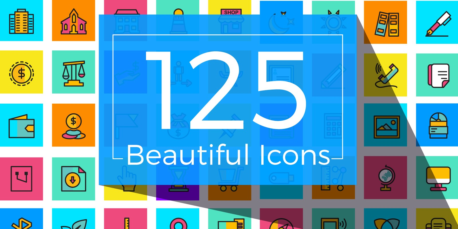 125 Beautiful Icons