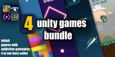 Super Unity Bundle 4 Games