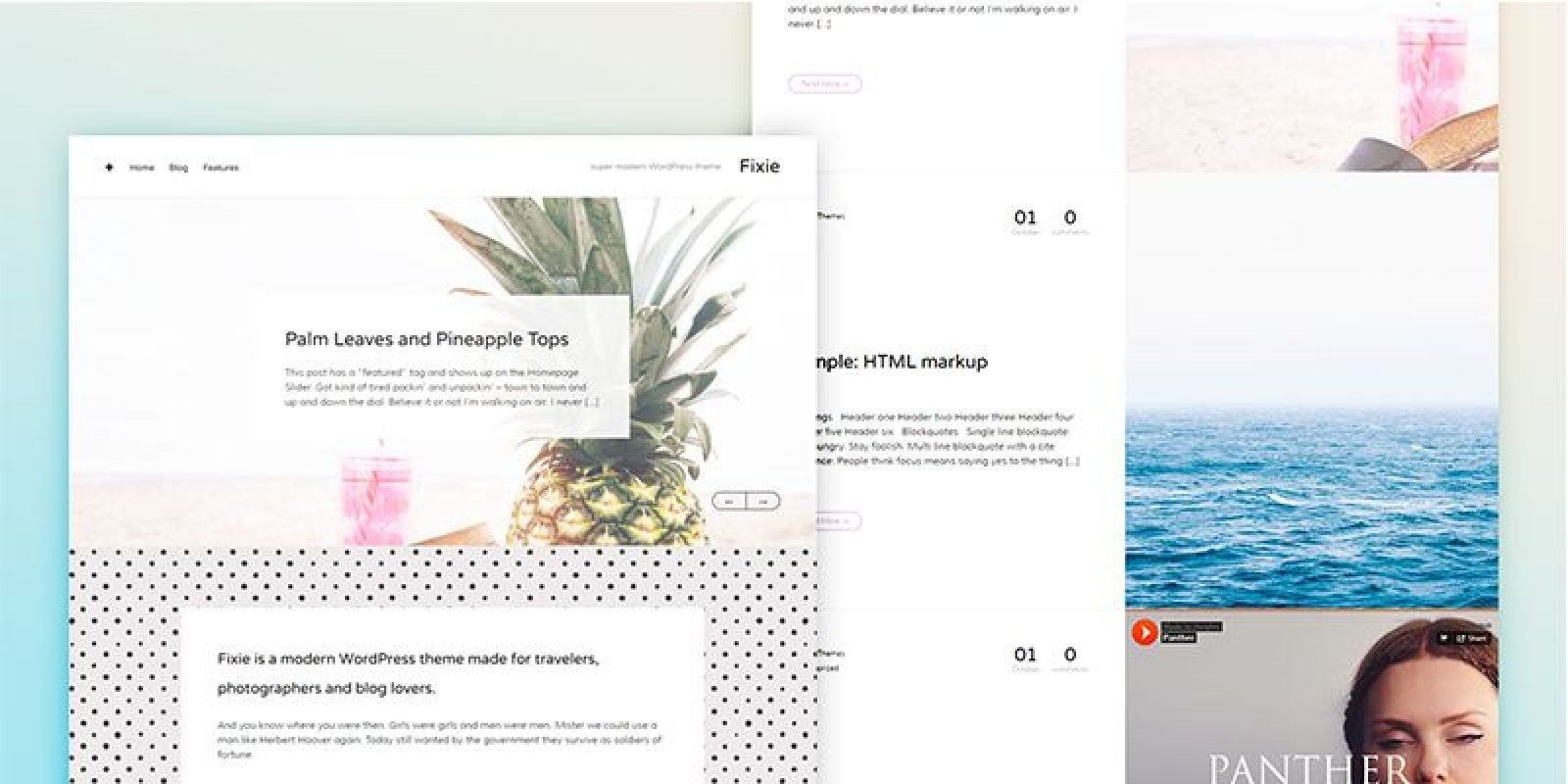 Fixie - Responsive WordPress Photography Theme