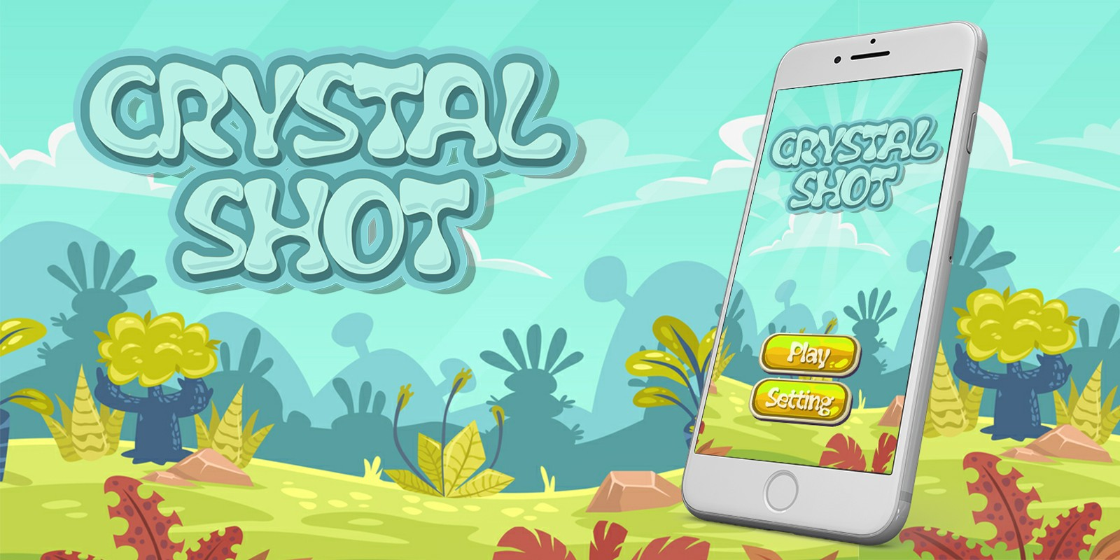 Crystal Shot - Buildbox Game Template