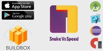 Snake Vs Speed Buildbox Template