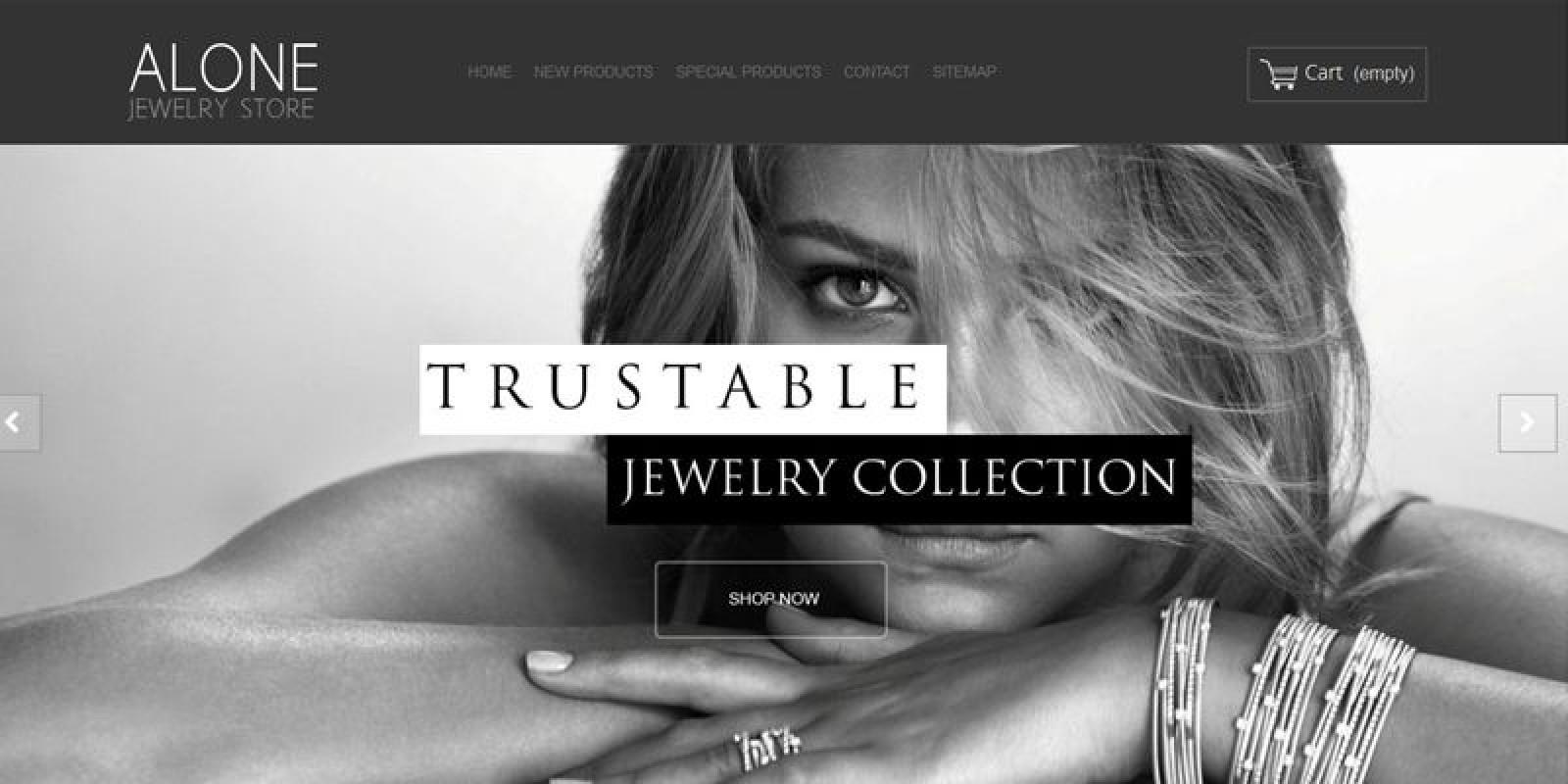 Alone Jewelry - PrestaShop Theme