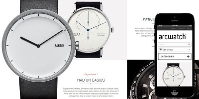 Arc Watch - PrestaShop Theme