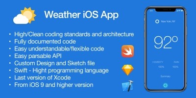 Weather - iOS App Source Code