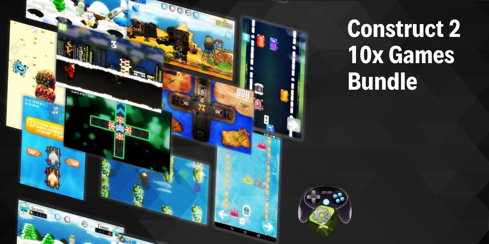 Construct 2 Games Bundle