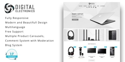 Digital Electronics Store - PrestaShop Theme
