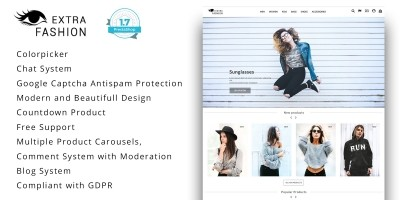 Extra Fashion - PrestaShop Theme